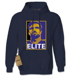 Elite J (Full Color) Baltimore Football Adult Hoodie Sweatshirt