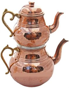 Turkish-copper-tea-pot-kettle-caydanlik