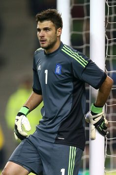 Orestis Karnezis - Ireland v Greece - International Friendly