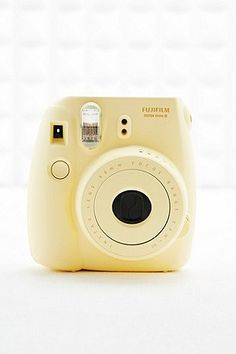 Fujifilm Camera Instax Mini 8 in Yellow - Urban Outfitters