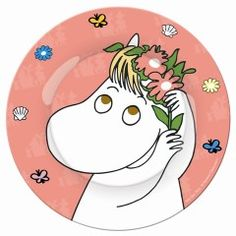 Welcome to Moominvalley, home of the Moomin characters and the Moomin shop with the best Moomin products in the world. Pink Plates, Small Plates, Decorative Plates, Moomin Shop, Moomin Valley, Tove Jansson, Kawaii, The Masterpiece, Little My
