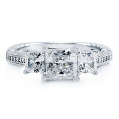 Princess Cut Cubic Zirconia CZ Sterling Silver 3-Stone Ring 2.02 Ct - Nickel Free Engagement Ring, Valentine Gift BERRICLE, http://www.amazon.com/dp/B008LYC0LE/ref=cm_sw_r_pi_dp_rxMgrb0NVXEW6