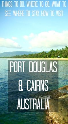 Things to do, where to go, what to see, where to stay and how to visit Port Douglas and Cairns in Australia Visit Australia, Queensland Australia, Australia Travel, Australia Visa, Cairns Queensland, Iconic Australia, Tasmania, Travel Oz, Travel Tips