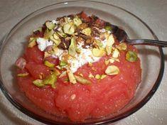 Sicilian Watermelon Pudding