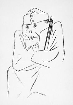 The war did me a lot of good, like a spa | George Grosz