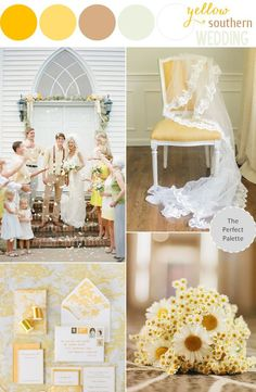 Sunny Southern Wedding (Best Wedding and Engagement Rings at http://www.brilliance.com)