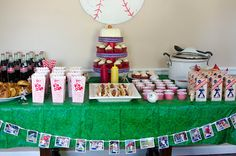 Rookie of the Year - Baby's First Birthday...cute idea! And cracker jacks!