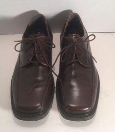 KENNETH COLE 8317 Leder schwarz Men's Leder 8317 Dress Schuhes Größe 10 1 2 NICE 1c2650