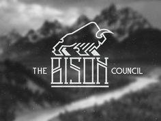 Logo Design: Buffalos and Bisons