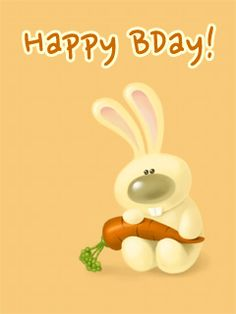Happy Bunny Daywaitthats Not Right Apps O Rama Birthday Cards