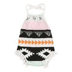 Aztec Romper for babies and toddlers
