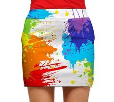 Drop Cloth Womens Golfing Skorts by Loudmouth Golf. Buy it @ ReadyGolf.com