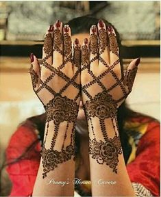 My engagement mehendi
