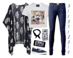 """""""3 1 / 0 7 / 2 0 1 5"""" by apcquintela ❤ liked on Polyvore featuring Tommy Hilfiger, Vans and Boohoo"""