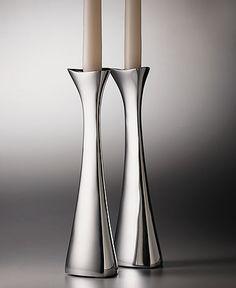 Nambe candlesticks = devine