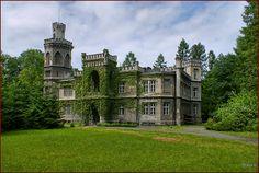 Pałac w Bulowicach – neogotycki pałac rodziny Larischów z 1882 roku. W latach 60. i 70. służył on jako sanatorium dla chorych na gruźlicę, a od lat 80. do 2008 roku jako oddział leczenia odwykowego. Obecnie trwa postępowanie sądowe mające określić, czy możliwy jest zwrot pałacu spadkobiercom dawnych właścicieli, czy też pozostanie on w dyspozycji Skarbu Państwa. Pałac wrócił do spadkobierców dawnych właścicieli. Monuments, Castle House, Facade House, Abandoned Places, Beautiful Places, Amazing Places, The Good Place, Places To Visit, To Go