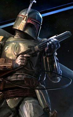 BobaFett - one of my favorite Star Wars character