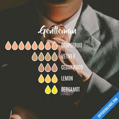 Gentleman - Essential Oil Diffuser Blend