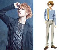 Nishio-senpai you're so hot!!! From Tokyo Ghoul Stage Play. His real name Shogo Suzuki...