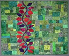 "Love this quilt.  ""Up the Wall"" from the Sunday Morning Quilts Flickr group"
