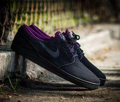 Nike SB Lunar Janoski Low-Black-Mulberry