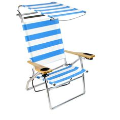 beach chair dimensions  sc 1 st  Pinterest & Rio extra wide backpack beach chair has larger seating capacity ...