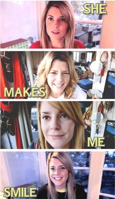 Grace Helbig. Please meet her, everybody. On youtube.com/itsgrace