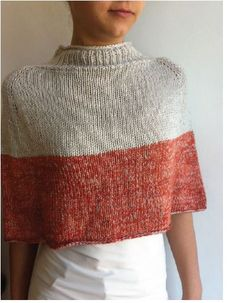 Acorn Capelet - free pattern for Be Sweet Bamboo & Be Sweet Skinny Wool