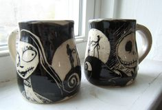 Jack and Sally mugs