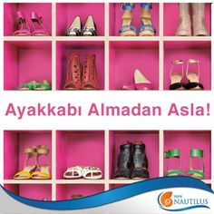 Ayakkabı almadan duramayanlardan mısın?  Tepe Nautilus'ta senin için o kadar çok mağaza var ki… #ayakkabı #moda