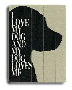Lisa Weedn 'I Love My Dog'