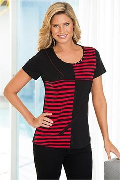 Women's Clothing Online - Capture Spliced Tape Tee Tape, Fashion Online, Women Wear, Women's Clothing, Girls Wear, Outfits For Women, Duck Tape, Women's Clothes, Movie