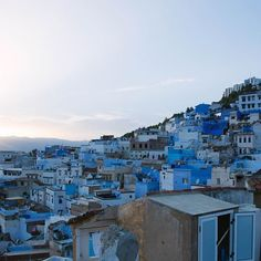 A quiet mind hears the heart. #traveltuesday #chefchaouen via Free People instagram