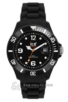 Ice-Watch Black Sili Forever Small Size: Built for quality, the watch has silicone strap that is soft on the wrist. Practical and reliable watch from Ice-watch. Wear for everyday use and can even be taken to the pool. Ice Watch, Rubber Bracelets, Silicone Bracelets, Black Bracelets, Men's Watches, Watches For Men, Wrist Watches, Fashion Watches, Men Fashion