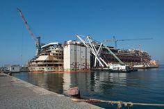 Dismantling of costa concordia
