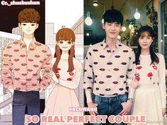 Cartoon VS Reality JongJoo couple Lee Jong Suk Han Hyo Joo . . ❤️ Perfect Match Couple . . ❤️ Leejongsuk❤️Hanhyojoo So Sweet & Real Perfect Couple . . Love is always clearly❤️ . . #leejongsuk #hanhyojoo #한효주 #韓孝周 #이종석 #李鍾碩 #イジョンソク #joosukcouple #jongjoocouple #jongjoo #honeycouple #kanchul #oyeonjoo #wtwoworlds #อีจงซอก #ฮันฮโยจู #perfectcouple @jongsuk0206 #perfectcouple . . Thanks you very much for sharing cr._shushushun@twitter