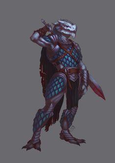 Ty, the Dragonborn Gladiator, Ted Thilander