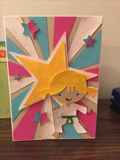 Create a friend cricut cartridge....sun burst card