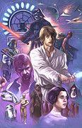 Star Wars Old Art by Star Wars Artist