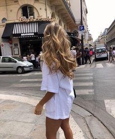 long blonde hair goals P I N:andreamejicanooffi Inspo Cheveux, Good Hair Day, Dream Hair, Pretty Hairstyles, Hairstyle Ideas, Bangs Hairstyle, Everyday Hairstyles, Party Hairstyle, Blonde Hairstyles
