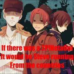 2P Hetalia.  I would absolutely love to see this, actually.  I find the 2p!s fascinating.