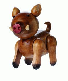 十二生肖系列公仔-台灣野豬(圖片來源:國立臺灣博物館)