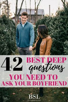 If you really want to get to know your boyfriend, you NEED to ask him these deep questions to ask your boyfriend. I asked him these questions and it led to talking about marriage, sex, and even future baby plans!