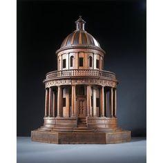 Architectural model - The Tempietto, made c1830