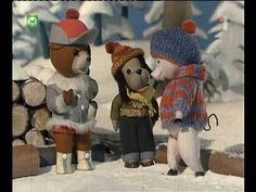 Macko Usko - Sankovacka - YouTube Winter Time, Winter Hats, Teddy Bear, Animation, Retro, Toys, Youtube, Animals, Animales