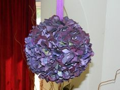 DIY Pomander : purple Pomander