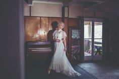 vintage bridal inspired editorial in abandoned house - jennifer picard photography #vintageweddinggown #editorial #bridal #beauty #abandonedhouse #weddingphotographer #piano #dance #ballet