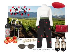 Designer Clothes, Shoes & Bags for Women Wine Tasting Outfit, Ragged Priest, Alexandre Vauthier, Ann Demeulemeester, Red Wine, Jimmy Choo, Polyvore Fashion, Yves Saint Laurent, Outfits