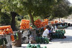 N1 roadside fruit vendors - Limpopo Province by jacashgone, via Flickr