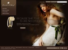 Diamond in the Rough Best Practice, Rough Diamond, Bridal Collection, Ecommerce, Web Design, Boutique, Extensions, Blog, Accessories